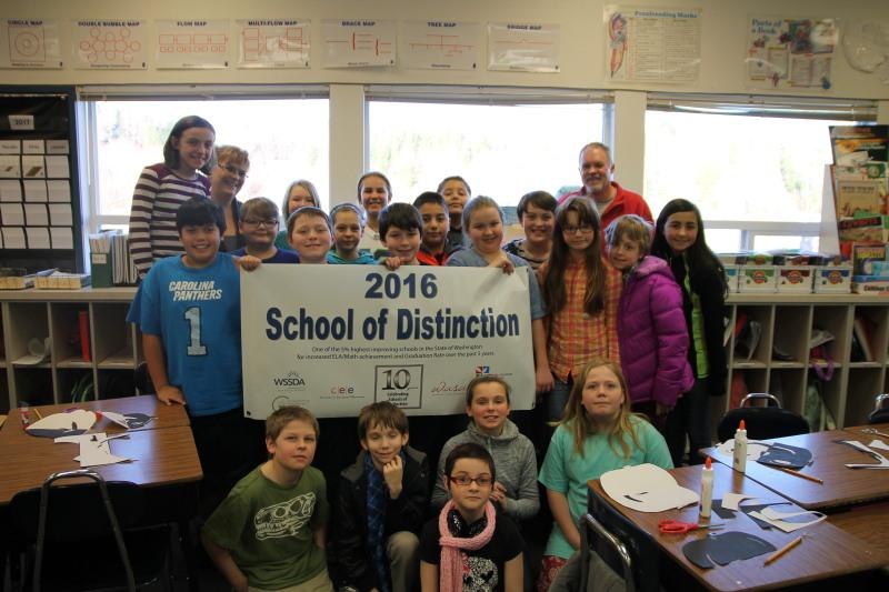 Toledo Elementary School is a 2016 School of Distinction