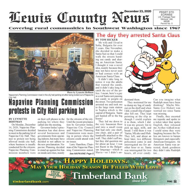 December 23, 2020 Lewis County News