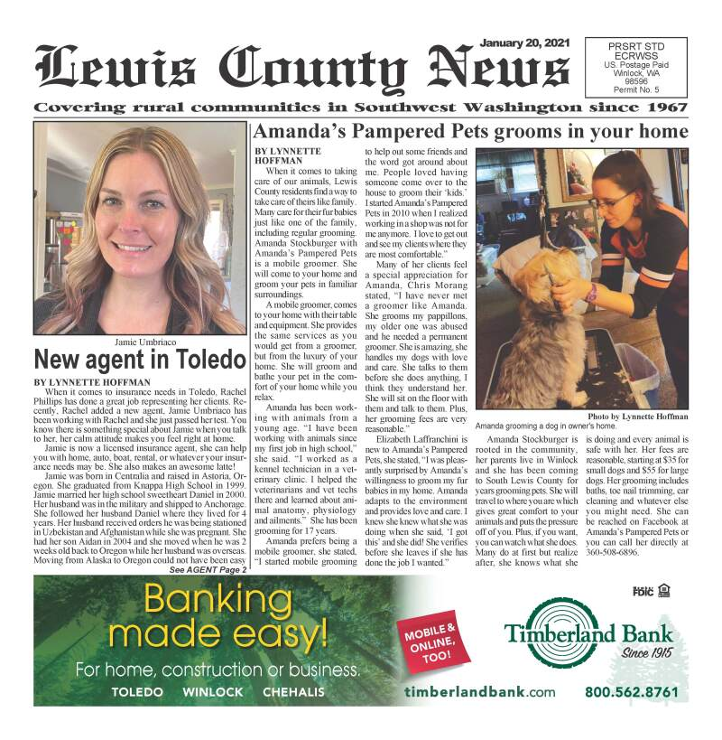 January 20, 2021 Lewis County News