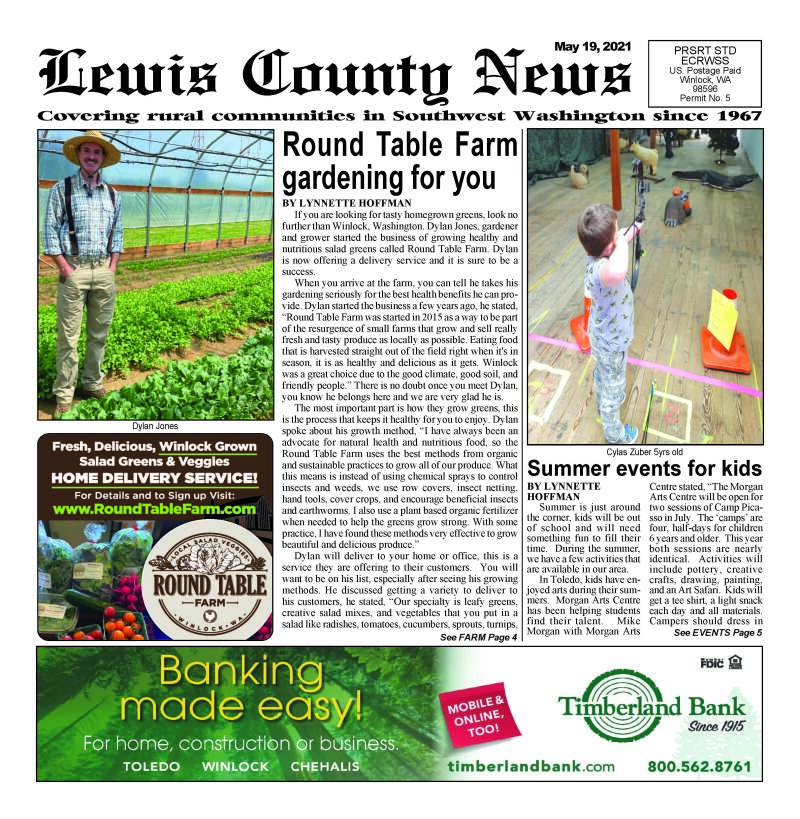 May 19, 2021 Lewis County News