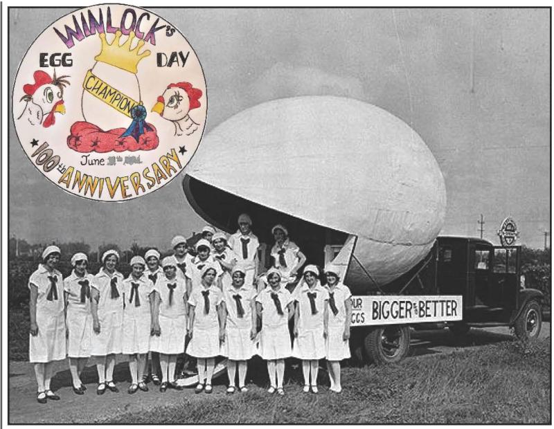 Winlock Egg Day celebrates 100 years