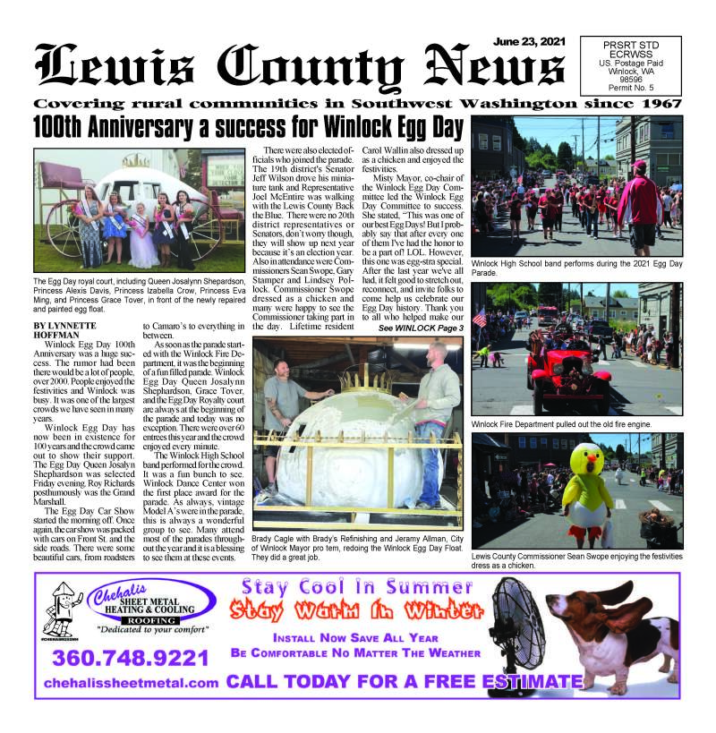 June 23, 2021 Lewis County News