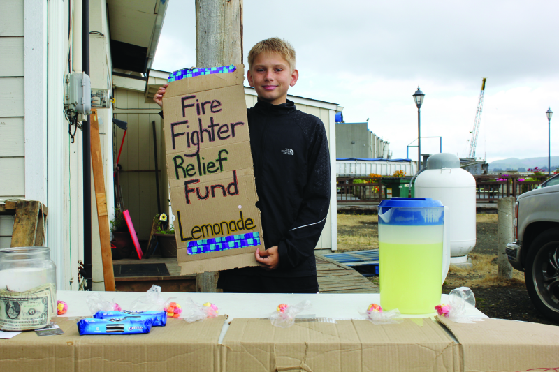 Raising money the old fashioned way
