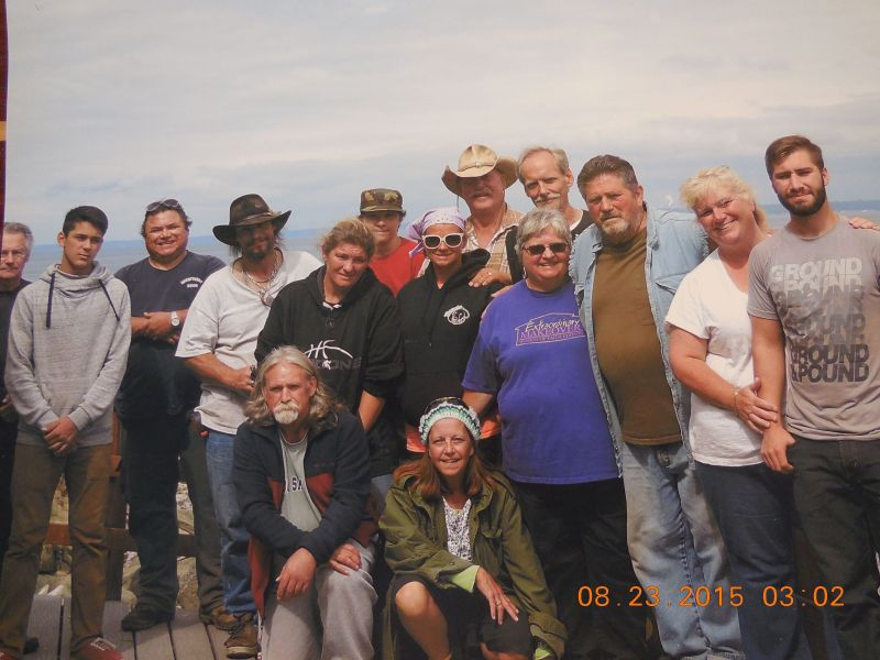 New Beginnings visits Barnes Island