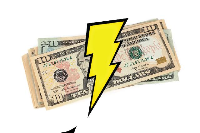 PUD experiencing shortfall in revenue