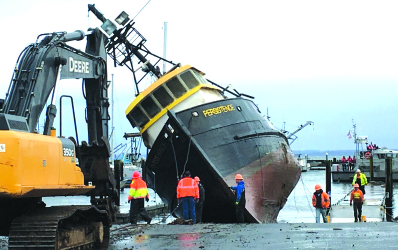 The Persistence puts financial burden on Port of Grays Harbor