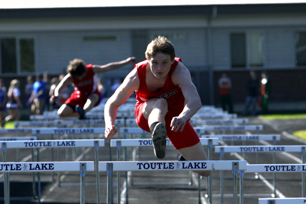 Toledo's Daniel Echtle hurdles into his favorite sport