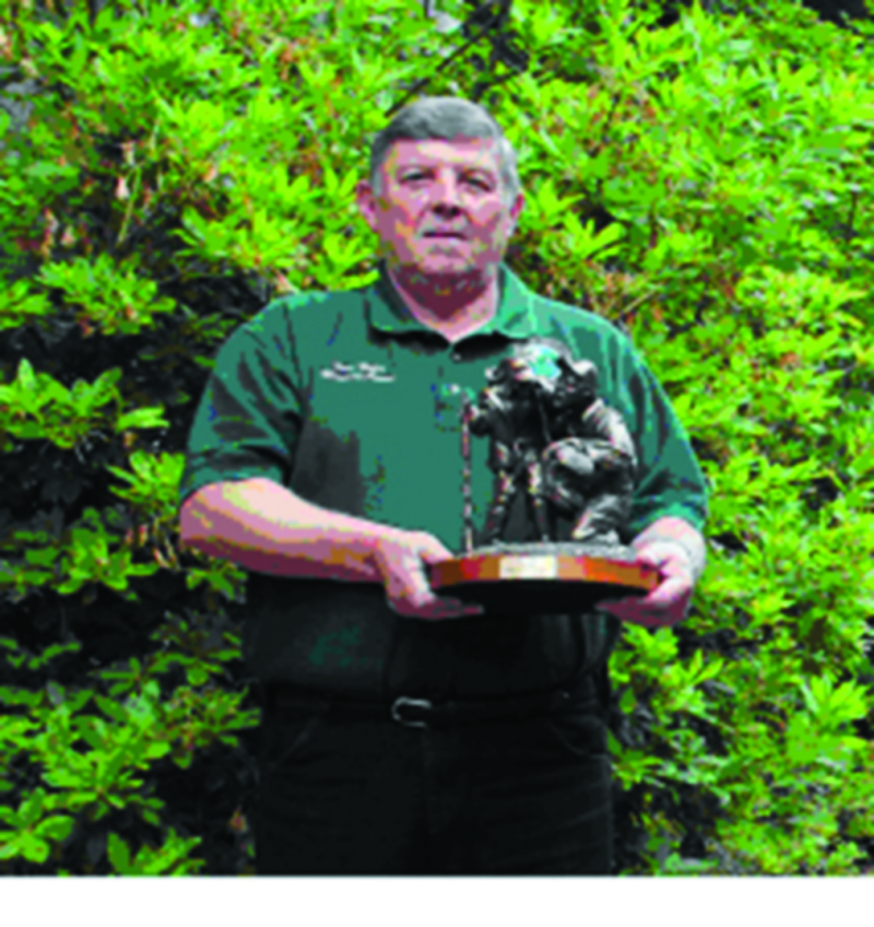 Steve Mills 'Instructor of the Year'