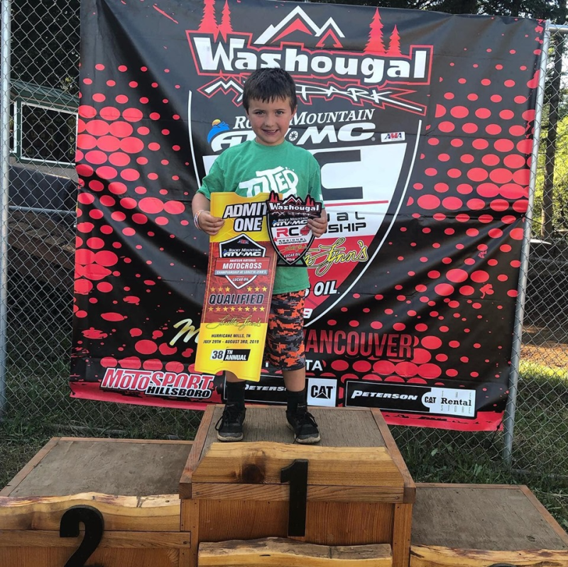 Local Racer Competes for National Spotlight in AMA National Motocross Championship