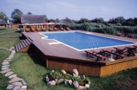 An above-ground pool could be a smart investment this summer