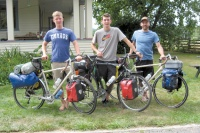 Biking for broken dreams: Three local young men plan to bike across America to raise awareness of human trafficking
