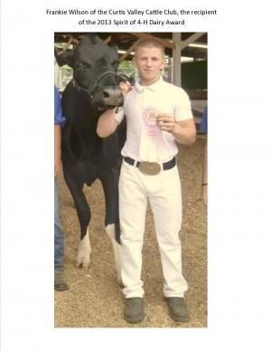 Dairy Award Winner