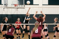 Indians sweep Cardinals in volleyball rivalry