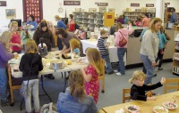 Dozens attend American Girls Tea Party at Winlock Library