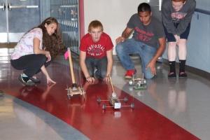 Mousetrap racing