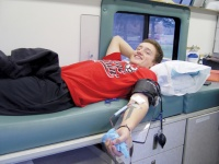 Castle Rock High School sees large turnout for Winter Blood Drive