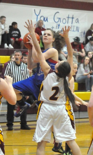 Valley vaults past Lady Indians 55-39
