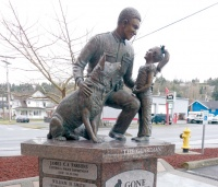 Police memorial dedicated to 'all the citizens of Lewis County'