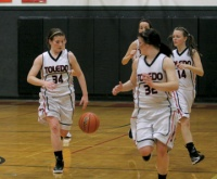 Toledo girls play well in loss