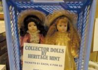 Senior Center raffling Heritage Mint dolls