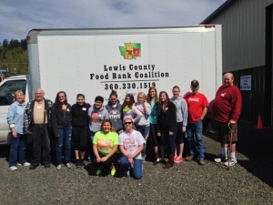 Helping cancer and Oso victims