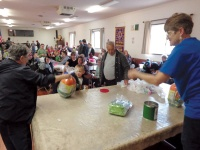 Vader families pack Lions Hall for Easter party