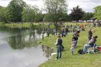 Toledo Lions find a keeper with first Kid's Fishing Derby