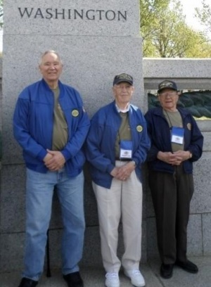 Three local veterans visit D.C., on Puget Sound Honor Flight