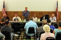 Candidates talk law enforcement, growth management during forum in Morton