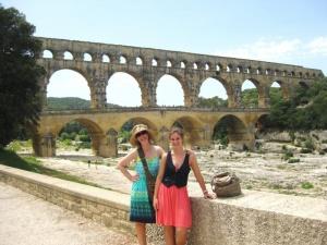 Exploring Roman Ruins in Nimes