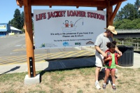 Toledo touting successes of life jacket station