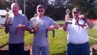 Winners of Octoberfest's Horse Shoes Competition