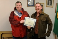 Cook earns leadership certificate from AWC