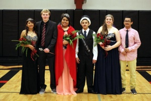 RHS Winter Homecoming Court