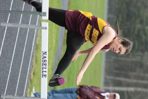 Lady Indians win at Naselle; boys third