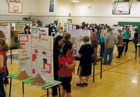Students show off science chops at Toledo Middle School
