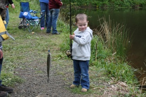 Catchin' a big one