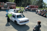 DUI drama shocks and educates students at Toledo High School