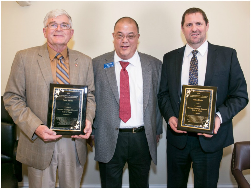 Takko and Blake inducted into Hunters Heritage Council Hall of Fame