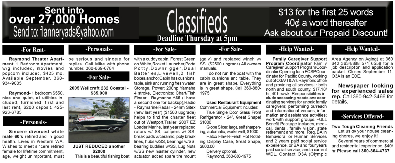 Classifieds 8.19.15