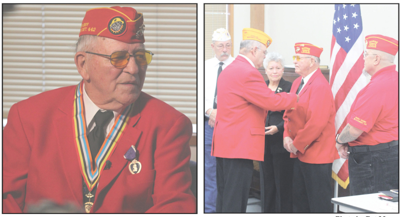 Local resident receives Purple Heart Medal after 67 years