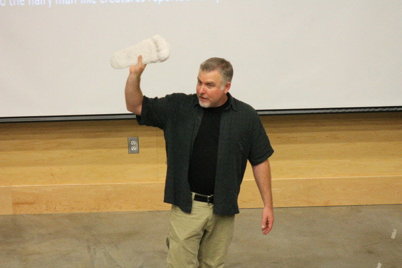 Sasquatch researcher visits Lewis County