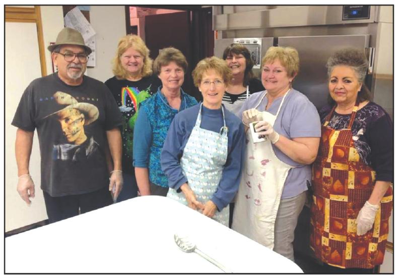 Senior Center Potato Bar Fundraiser