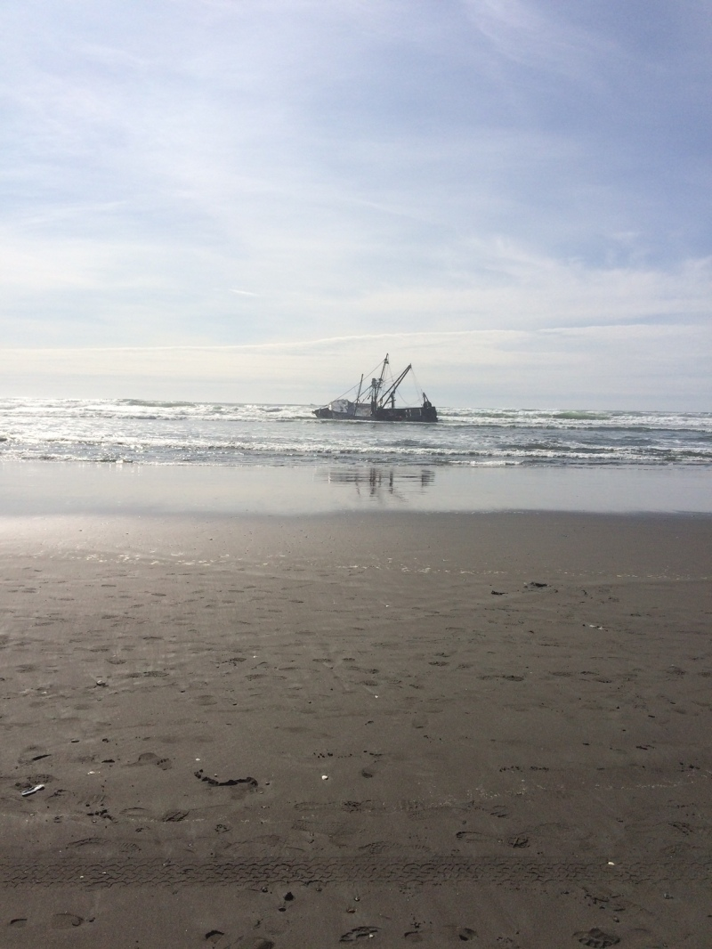 Privateer Beached