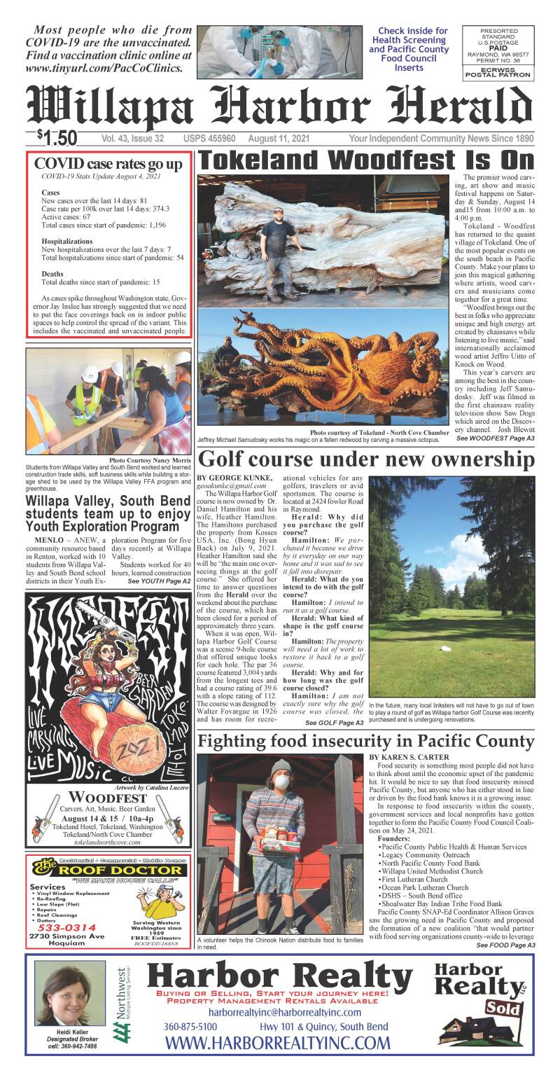 August 11, 2021 Willapa Harbor Herald and Pacific County Press