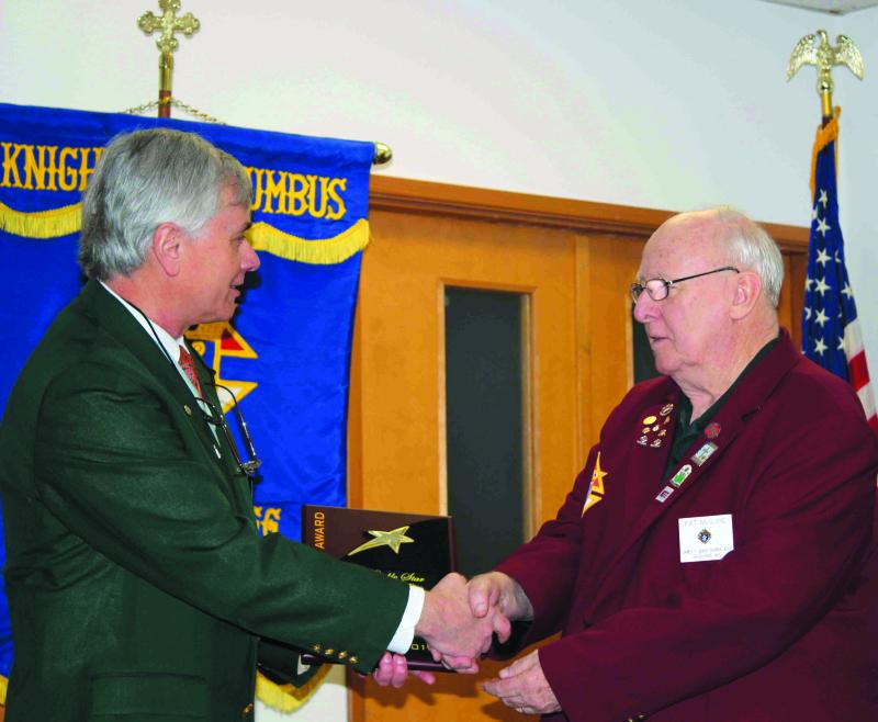 Local Knights of Columbus Council receives top International Award