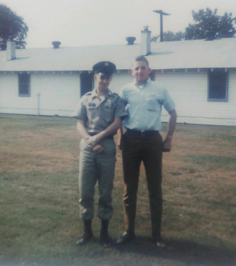 Randy Pennington serving his country
