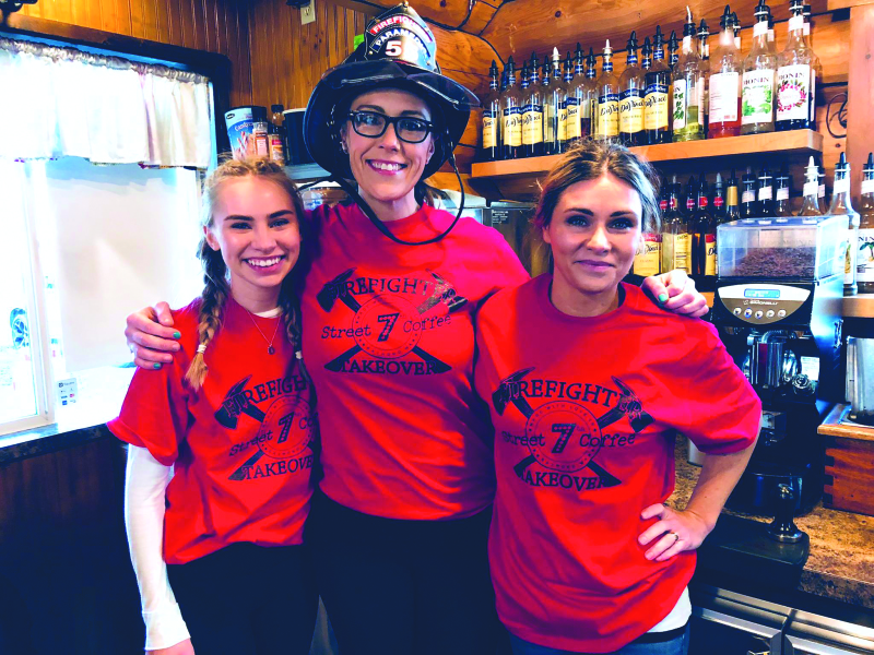 Local firefighter raises money for stairclimb