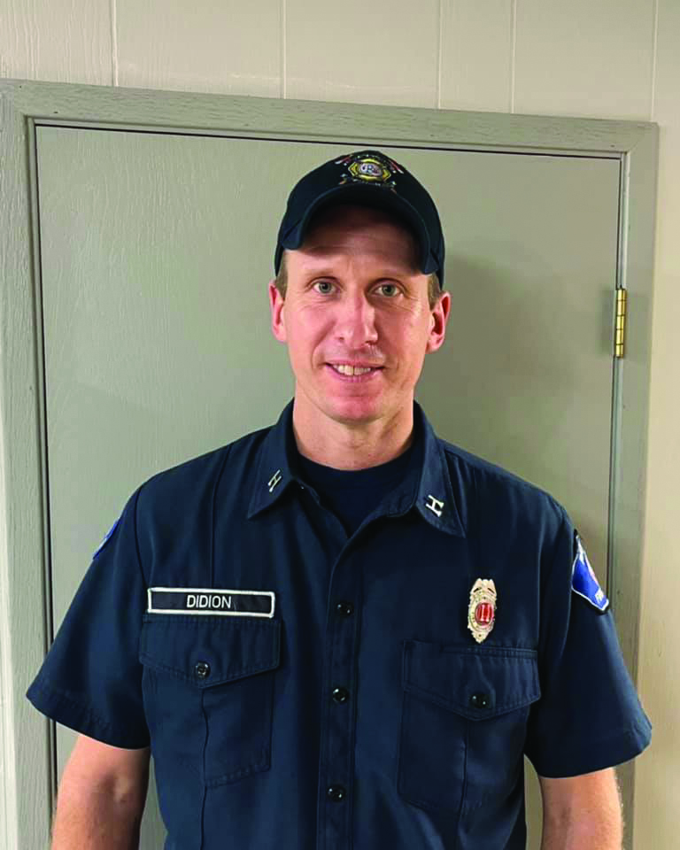 Raymond Fire Chief: Didion brings experience, dedication to new position