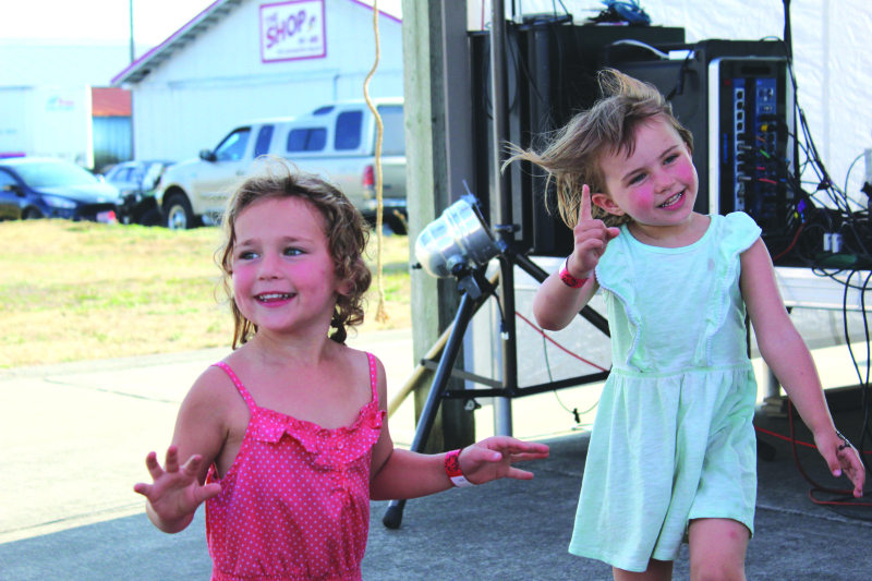 Photo by George Kunke - There's going to be plenty of fun on hand for kids on Sunday at the Willapa Harbor Festival.